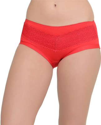 owomaniyah Women's Hipster Red Panty