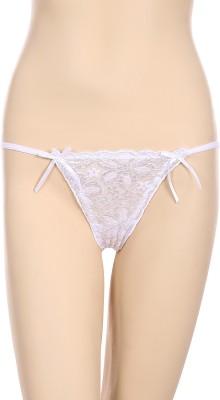 FIHA Women's Thong White Panty