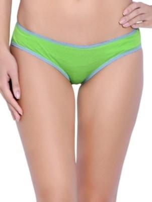 KRG ENTERPRISES Women's Bikini Green Panty