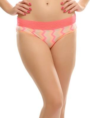 Clovia Women's Bikini Pink Panty
