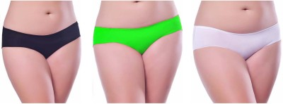 Our Rituals Women's Hipster Black, Green, White Panty
