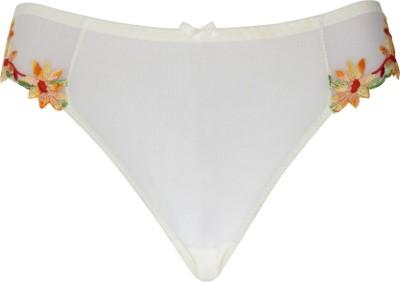 Peches Women's Bikini Pink, Orange Panty