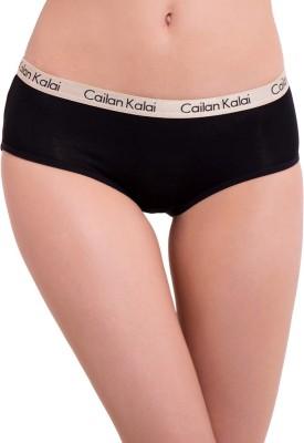 Cailan Kalai Women's Bikini Black Panty