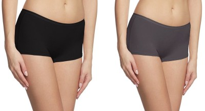 Fashion Line Women's Boy Short Multicolor Panty(Pack of 2) at flipkart