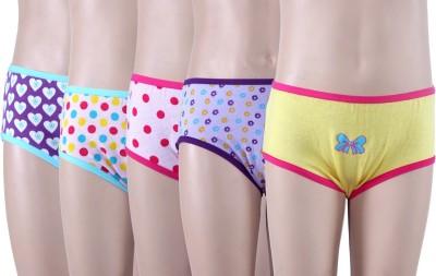 SPICTEX Girl's Brief Multicolor Panty