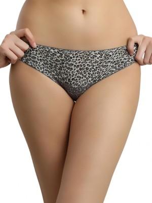 Shyle Women's Bikini Grey Panty