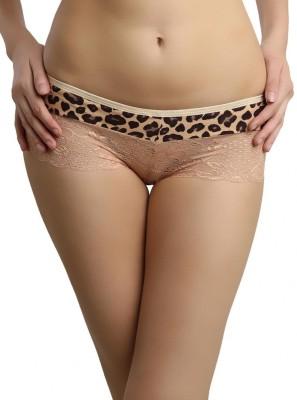 Shyle Women's Bikini Beige Panty