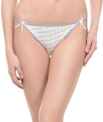 Ploomz Fashion Women's Bikini Grey Panty