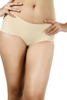 Deep Under Trace Less Women's Hipster Beige Panty