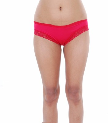 Felicity Design Women's Bikini Red Panty