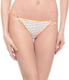 Ploomz Fashion Women's Bikini Orange Pan...