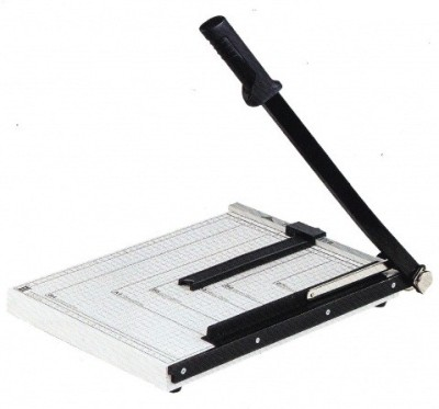 HE Retail 18 x 13 inch Large A3 Size Metal Grip Guillotine Paper Cutter