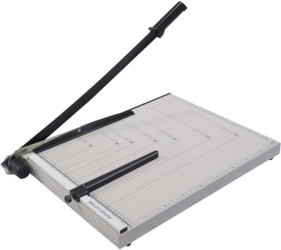 HE Retail Supplies Hand Held Large Size Metal Grip Guillotine Paper Cutter