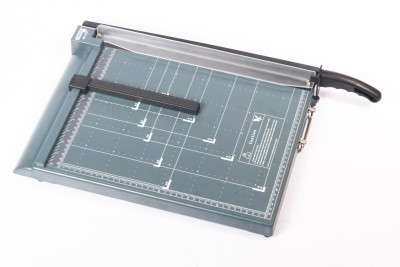 Chrome Tool Plastic Grip Guillotine Paper Cutter