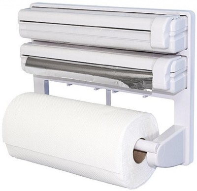 CPEX Triple Paper Dispenser For Cling Film Wrap Aluminium Foil & Kitchen Roll 5821 Paper Dispenser