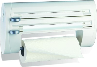 Emsa Superline Triple Roll Holder 40cms White 500803 Paper Dispenser