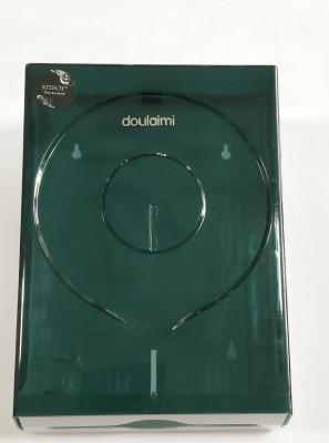 "Kitschâ""¢ Duolaimi Large Transparent Disposable ,Z-Fold, Tissue Paper Dispenser"
