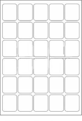 Novajet 30 A4 Size Sticker Paper Self-adhesive Paper Label