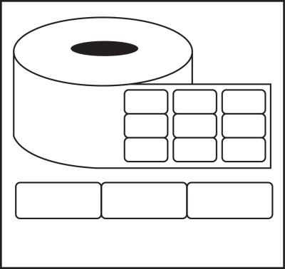Nplabel Barcode Label 33X15MM Self-adhesive Paper Label