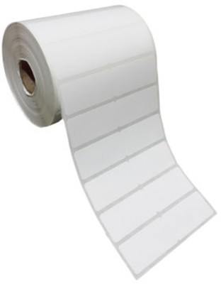 Royaltec 25X25MM Barcode Label (1X1 INCH) Self-adhesive Paper Label(White)