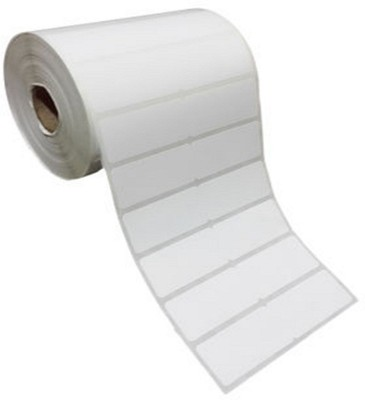 Sevensoft Deveopers 25X25MM Cromo Barcode Label (1X1 INCH) Self-adhesive Paper Label(White)