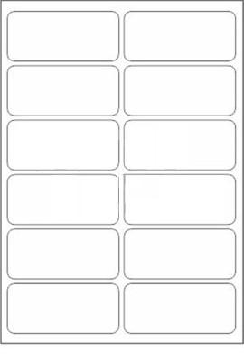 Novajet 12 A4 Size Sticker Paper Self-adhesive Paper Label