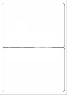 Novajet 2 A4 Size Sticker Paper Self-adhesive Paper Label