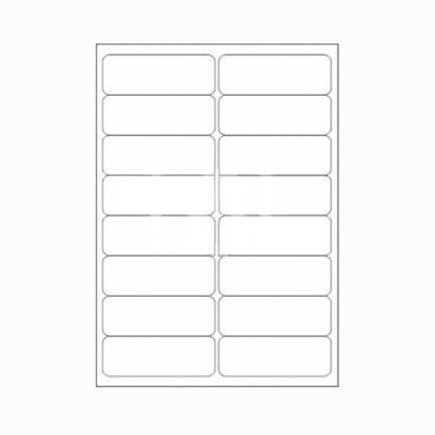 Desmat A4ST16-100S Self-adhesive Paper Label