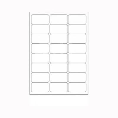 Desmat A4ST24-100S Self-adhesive Paper Label