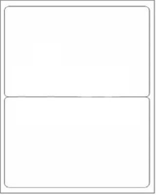 R R Enterprises 2- A4 Size Self Adhesive Paper Label