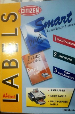 CITIZEN SELF ADHESIVE Paper Label