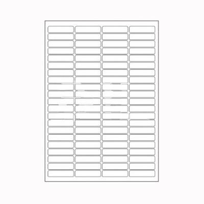 Desmat A4ST84-100S Self-adhesive Paper Label(White)