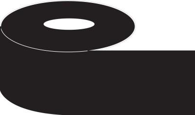 Nplabel Wax Barcode Printer Ribbon 110WX300MTR Non-adhesive Paper Label(Black)
