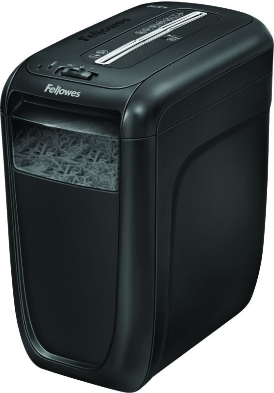 Fellowes new model Level 3 Cross-cut Office Paper Shredder(Black)