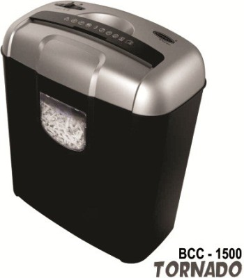 Bambalio 6 Sheets Paper/Cd/Credit Card Level 3 Cross-cut Office Paper Shredder