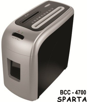 Bambalio 7 Sheets Paper/Cd/Credit Card Level 2 Micro-cut Office Paper Shredder