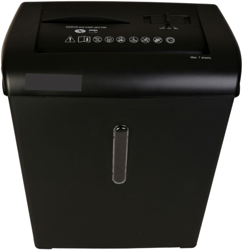 DDS 7CC Level 3 Cross-cut Office Paper Shredder(Black)