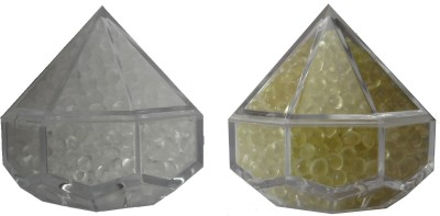 Miracle Lavender and Spanish Touch Plastic Paper Weights  with Glass Finish