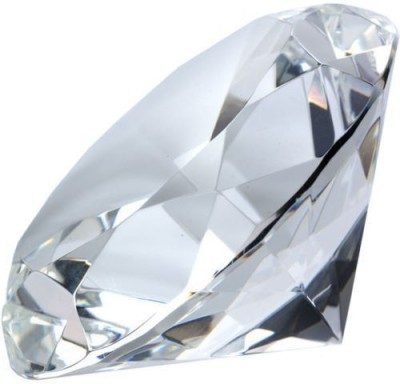 KEBICA Glass Crystal Diamond Shaped Pape...