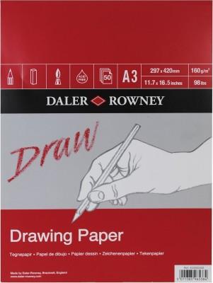 Daler-Rowney Medium Grain A3 Drawing Paper