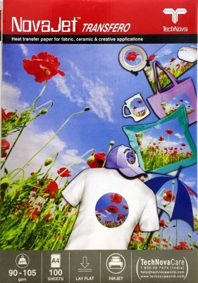 NOVAJET SUBLIMATION TRANSFER PAPER UNRULED A4 Inkjet Paper