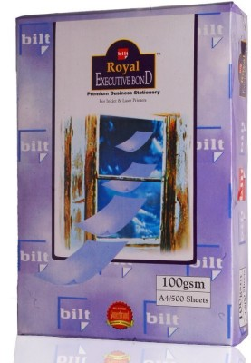 Bilt Royal Executive Bond Unruled A4 A4 paper