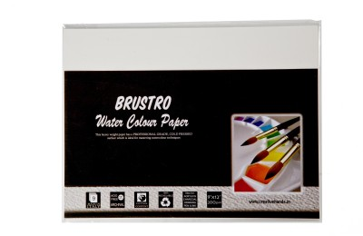 Brustro Watercolor Paper 200 gsm Pack (9