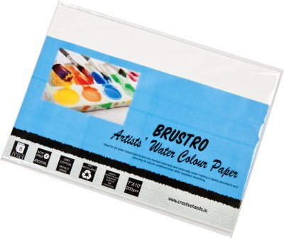 Brustro Artist Watercolor Paper 200 gsm Pack (7