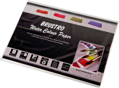 Brustro Watercolor Paper 300 gsm Pack (7