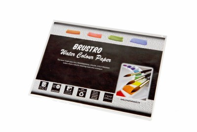 Brustro Watercolor Paper 200 gsm Pack (7
