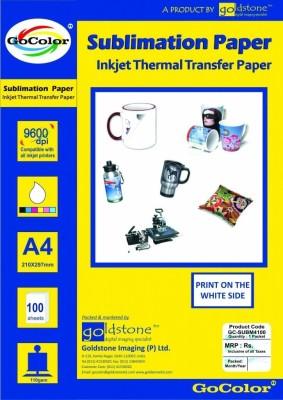 Go Color Transfer Paper Unruled A4 Sublimation Mug Printing Paper