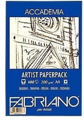 Fabriano Accademia A4 Drawing Paper