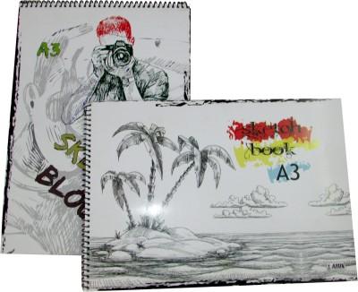 Gathbandhan X Series Unruled A3 Drawing Paper