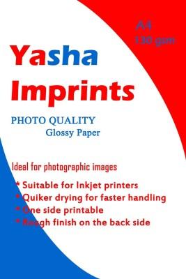 Yasha glossy Unruled A4 Inkjet Paper